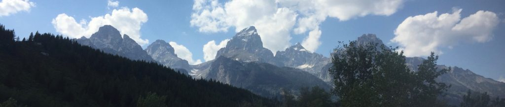 The Grand Teton From AAC Climbers Ranch